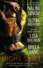 Short Review: Night Shift Anthology by Nalini Singh, Ilona Andrews,  Lisa Shearin and Milla Vane