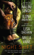 Short Review: Night Shift Anthology by Nalini Singh, Ilona Andrews,  Lisa Shearin and Milla Vane