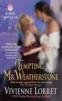 Book Tour & Review: Tempting Mr. Weatherstone by Vivienne Lorret