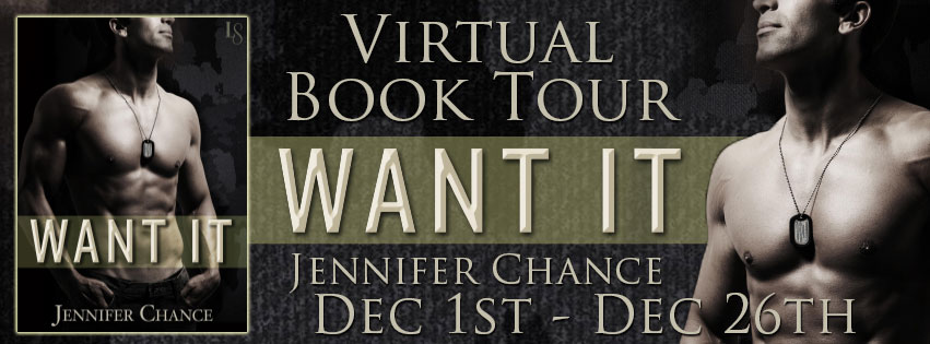 Book Tour and Giveaway: Want It by Jennifer Chance