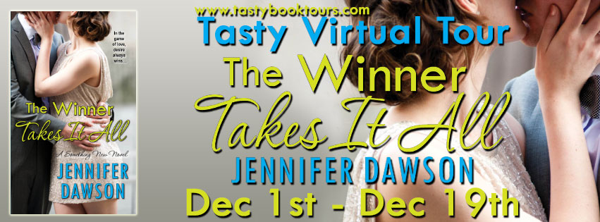 Book Tour and Giveaway: The Winner takes it all by Jennifer Dawson
