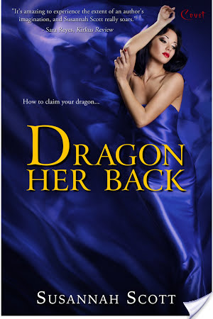 Review: Dragon her back by Susannah Scott