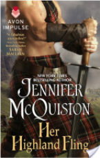 Book Tour: Her Highland Fling by Jennifer McQuiston Review + Giveaway!