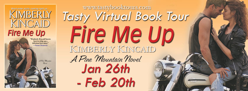 Fire me up by Kimberly Kincaid Excerpt + Giveaway