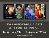 Tour: Paranormal Picks from Lyrical Press
