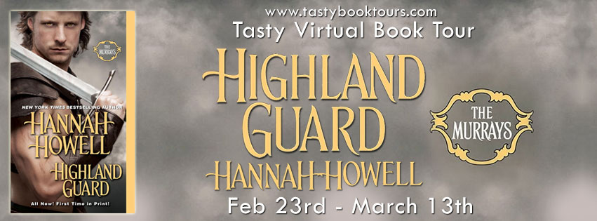 Highland Guard by Hannah Howell Excerpt + Giveaway
