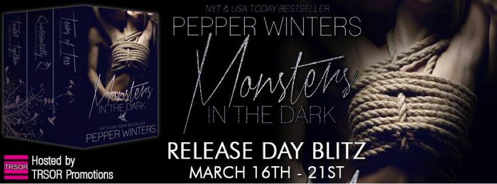Release Day: The Monsters in the Dark Box Set by Pepper Winters + Giveaway