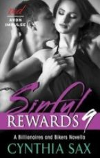 Guest post with Author Cynthia Sax Author of Sinful Rewards 9 + GIVEAWAY!