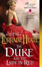 Review: The Duke and the Lady in Red by Lorraine Heath & giveaway.
