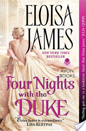 Review: Four Nights With The Duke by Eloisa James  + Giveaway