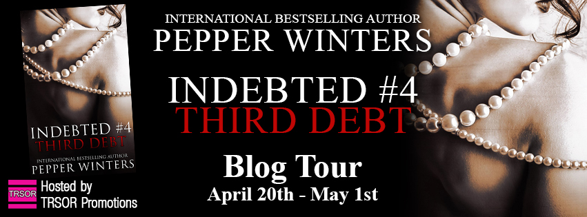 Excerpt: Third Debt by Pepper Winters + Giveaway.