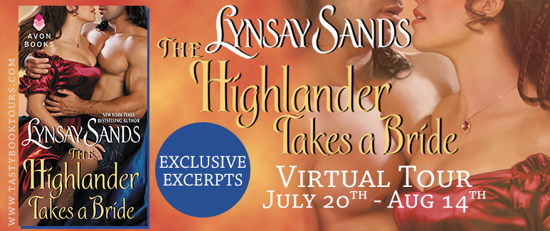 Review: Highlander Takes a Bride by Lynsay Sands + Giveaway