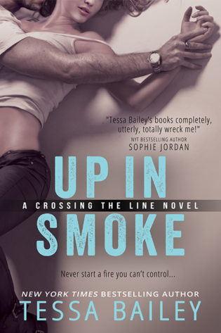Excerpts: Crossing the Line Series by Tessa Bailey