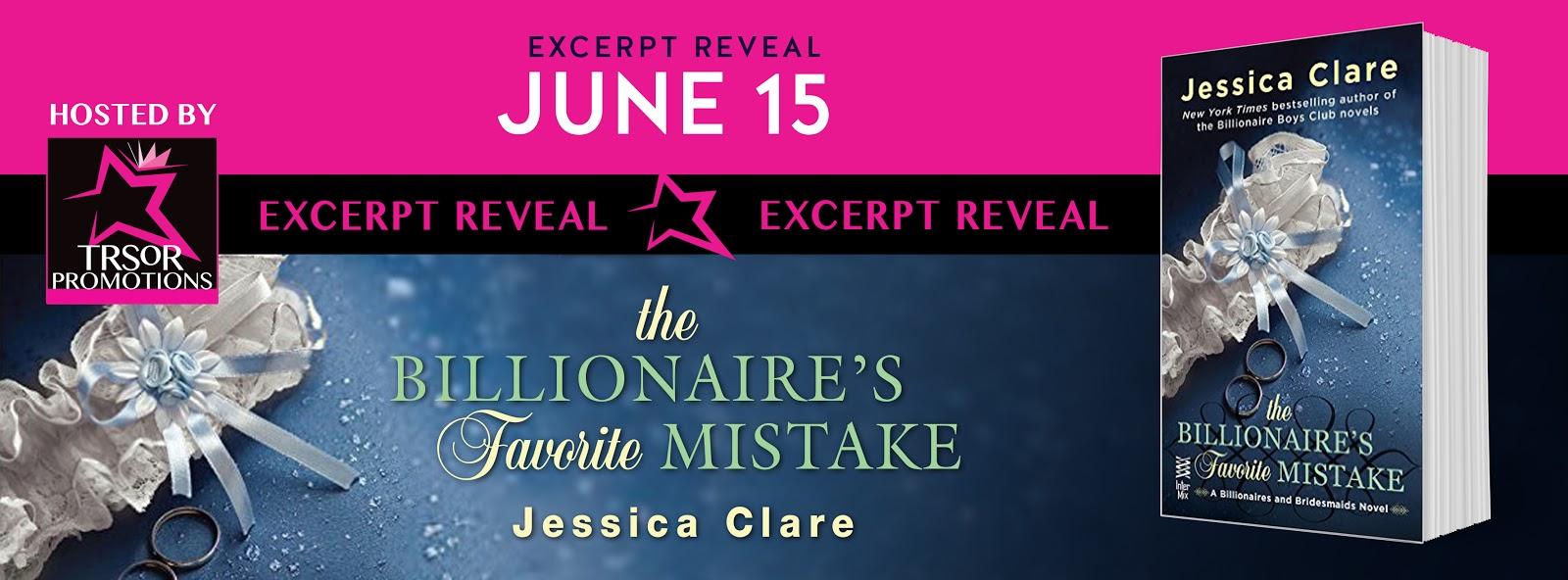 Excerpt: Billionaire's Favorite Mistake by Jessica Clare
