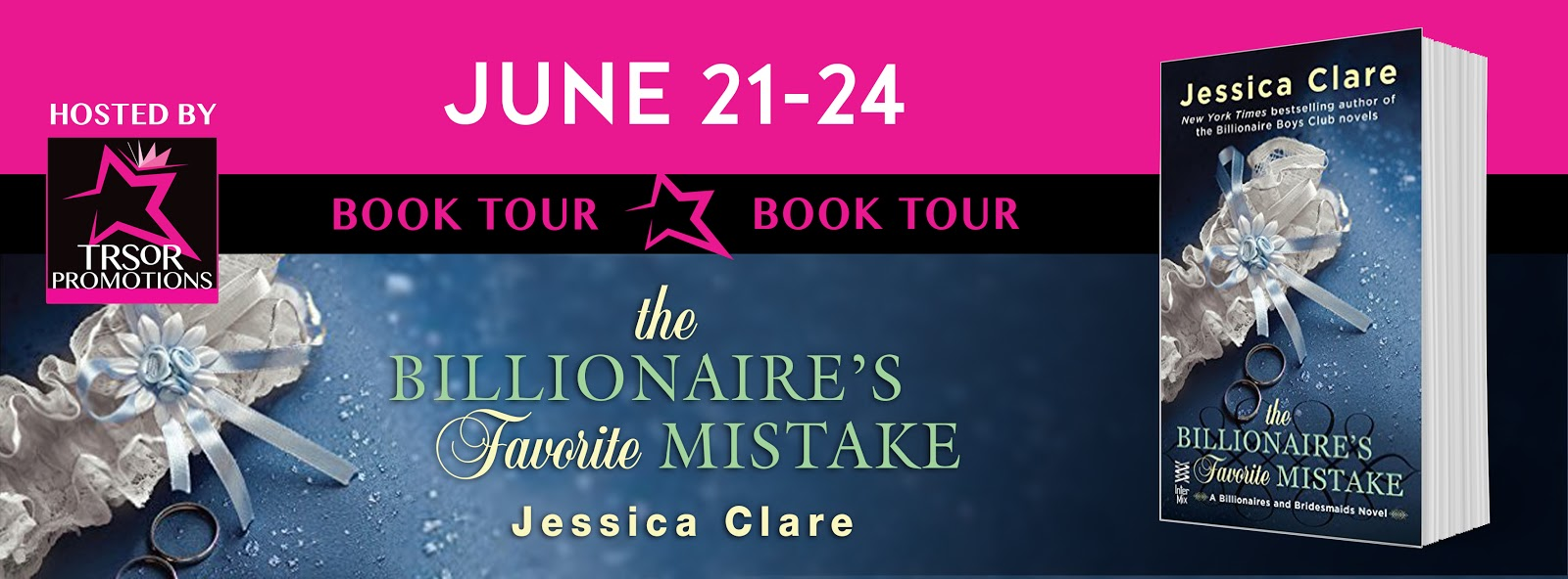 On Tour: Billionaire's Favorite Mistake by Jessica Clare