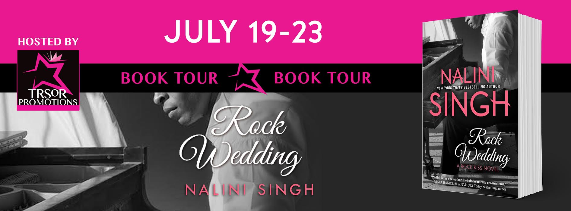 Review and giveaway: Rock Wedding by Nalini Singh