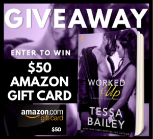 WORKED UP Giveaway Graphic