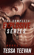 Cover Reveal: The Explosive Series by Tessa Teevan