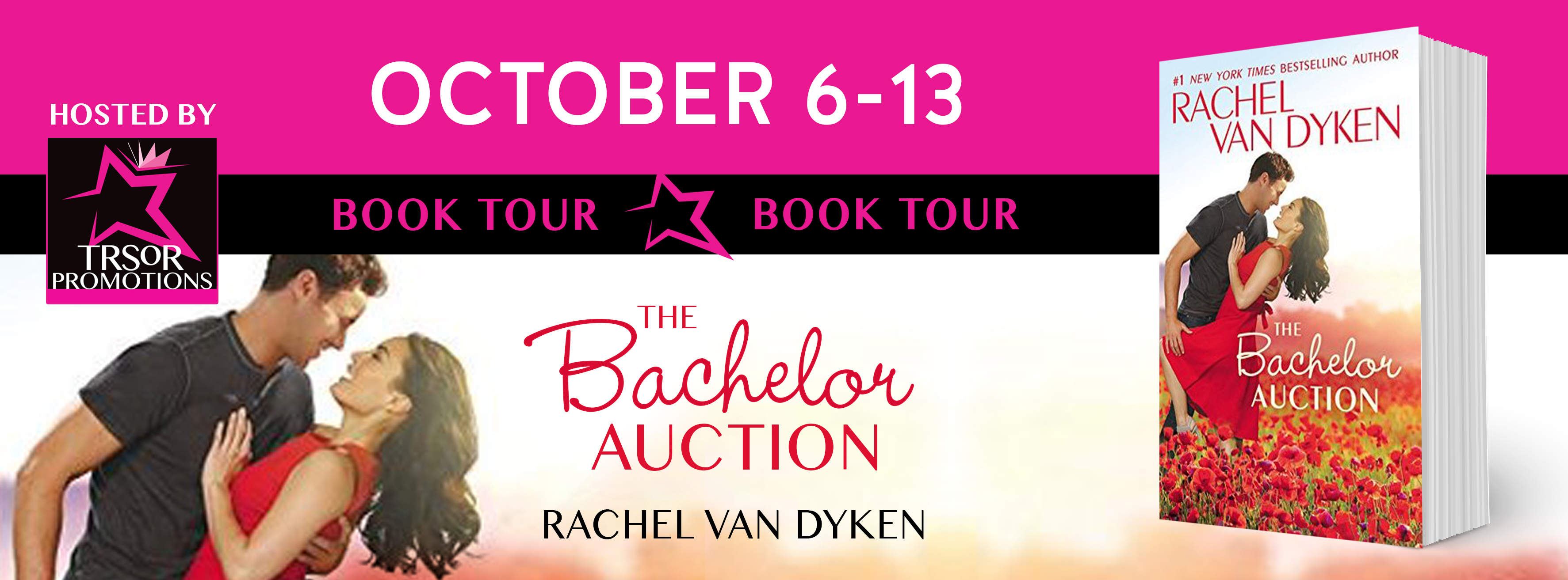 Excerpt and Giveaway: The Bachelor Auction by Rachel van Dyken