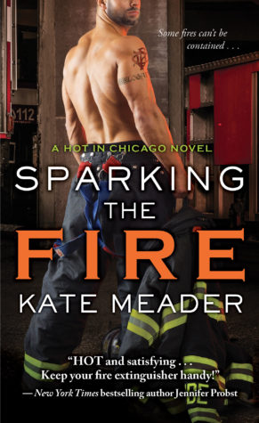 Review and Giveaway: Sparking the Fire by Kate Meader