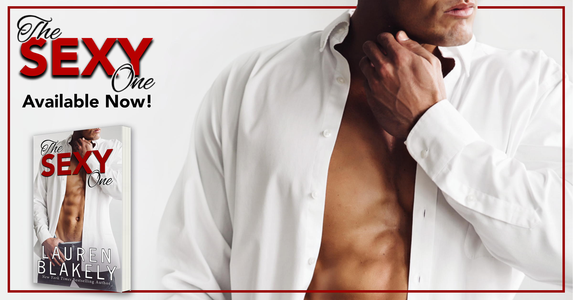 Release Week: The Sexy One by Lauren Blakely + Giveaway