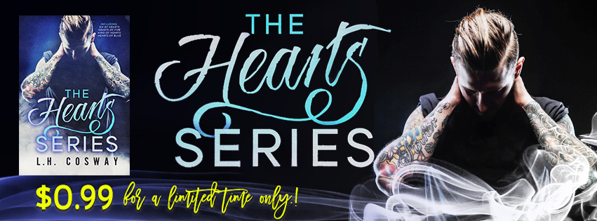 Release Day: The Heart Series Boxset by L.H. Cosway