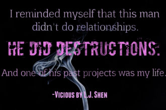 Review: Vicious by L.J. Shen | A Fortress of Books