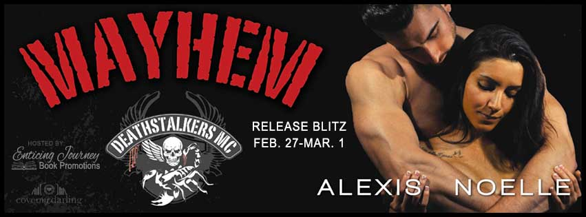 Release Day and Review: Mayhem by Alexis Noelle | A Fortress of Books