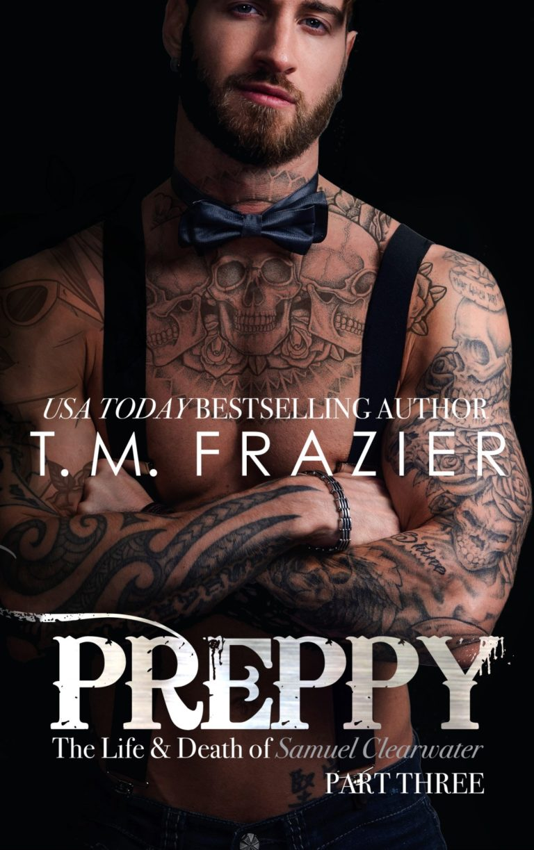 Cover Reveal: Preppy, Part Three by T.M. Frazier