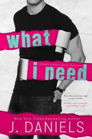 Release Day: What I Need by J. Daniels