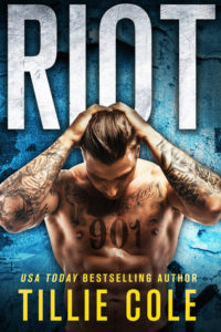 Release Day and Excerpt : Riot by Tillie Cole