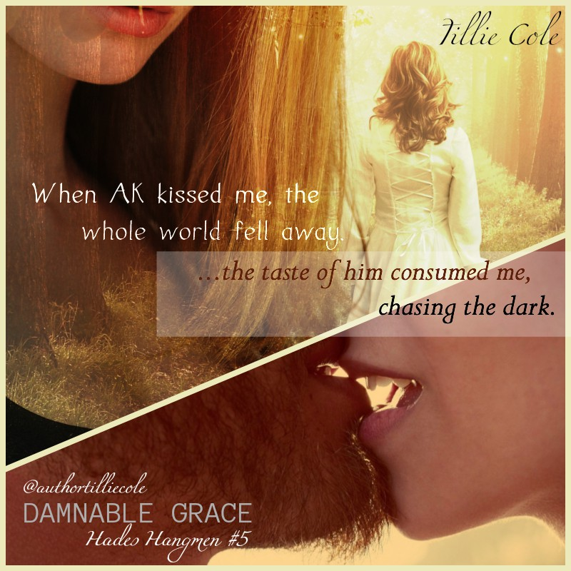 Release Day: Damnable Grace by Tillie Cole - A Fortress of Books