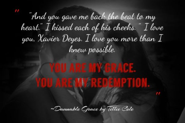 Blog Tour: Damnable Grace by Tillie Cole - A Fortress of Books