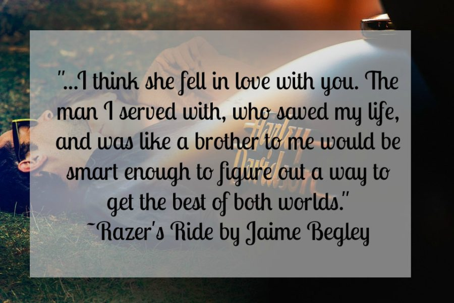 Review: Razer's Ride by Jamie Begley - A Fortress of Books