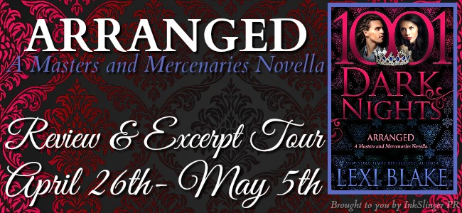 Review and Excerpt: Arranged by Lexi Blake