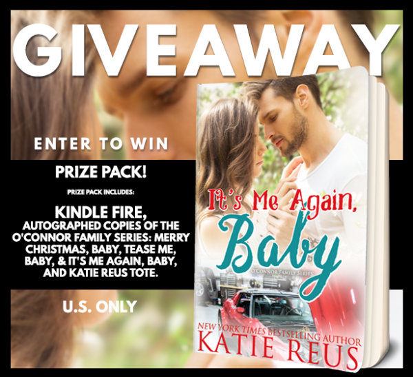 Release Blitz and Giveaway: It's Me Again, Baby by Katie Reus - A Fortress of Books