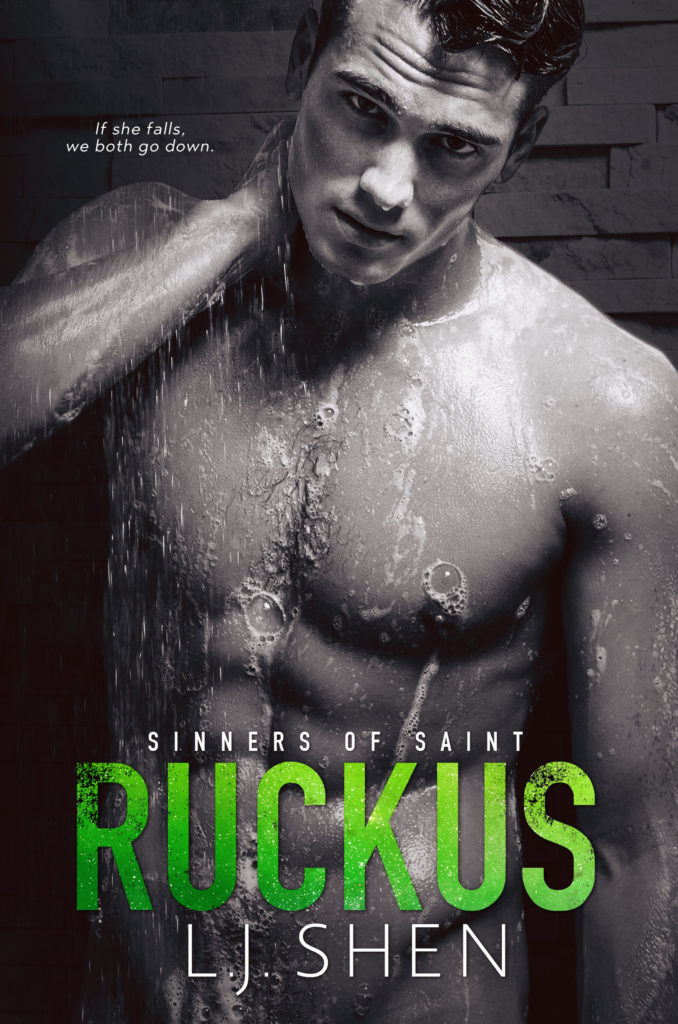 Cover Reveal: Ruckus by L.J. Shen - A Fortress of Books
