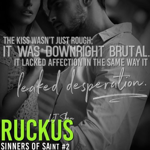 Release Blitz: Ruckus by LJ Shen - A Fortress of Books
