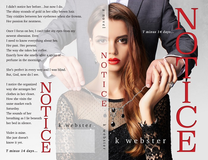 Cover Reveal: Notice by K.Webster - A Fortress of Books