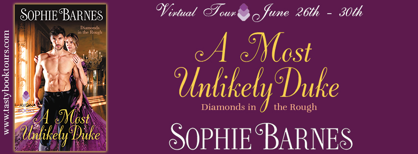 Interview and Giveaway: A Most Unlikely Duke by Sophie Barnes