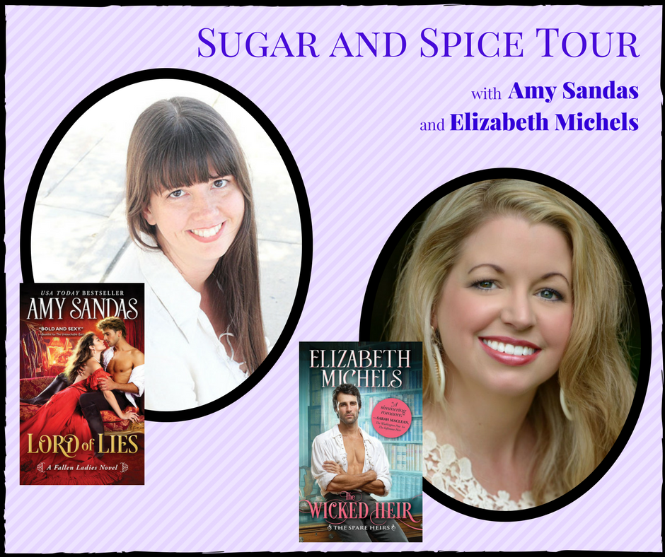 Interview with Amy Sands and Elizabeth Michels and a big giveaway