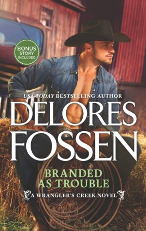 Q&A and Giveaway: Branded As Trouble by Delores Fossen