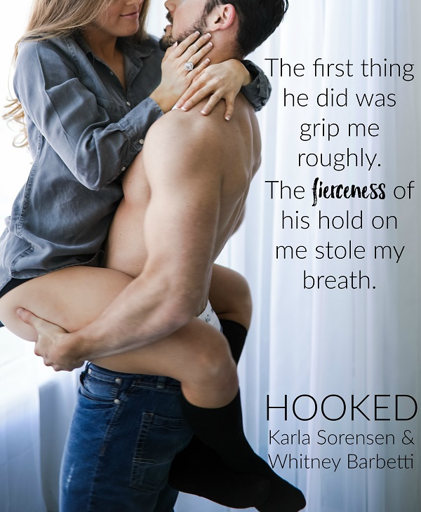 Cover Reveal: Hooked by Karla Sorensen & Whitney Barbetti - A Fortress of Books