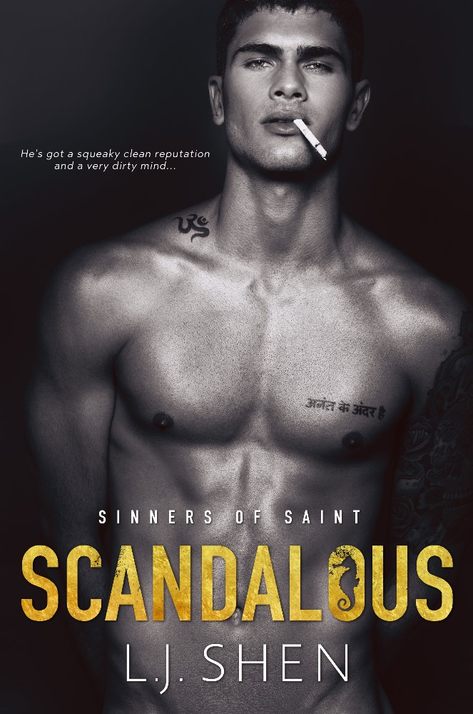Cover Reveal: Scandalous by LJ Shen - A Fortress of Books Blog