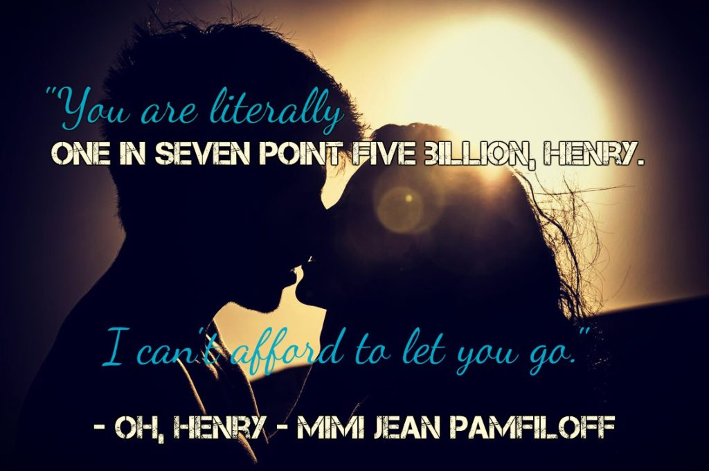 Review: Oh, Henry by Mimi Jean Pamfiloff - A Fortress of Books Blog