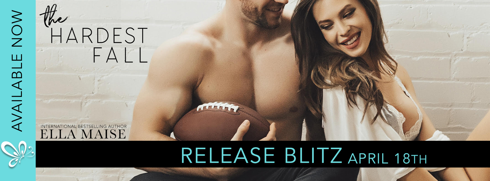 Release Day: The Hardest Fall by Ella Maise
