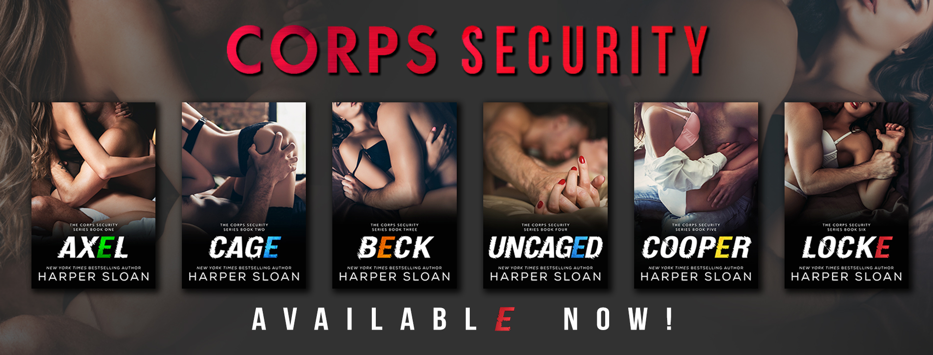 Re-reveal: CORPS Security by Harper Sloan