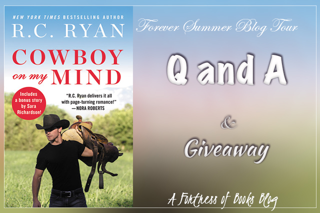 Q and A with Author R.C. Ryan and a giveaway