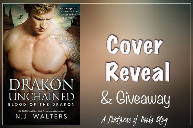 Cover Reveal and Giveaway: Dragon Unchained by N.J. Walters