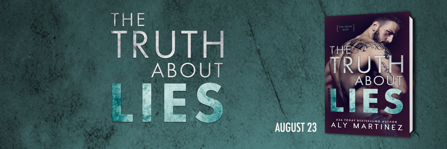Cover Reveal: The Truth About Lies by Aly Martinez